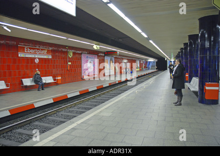 subway station ebertplatz in cologne germany north stock photo royalty free image 13476423. Black Bedroom Furniture Sets. Home Design Ideas