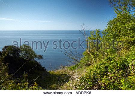 Pinhay Bay near Lyme Regis Dorset England UK - Stock Photo