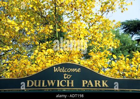 Dulwich Park South London UK - Stock Photo