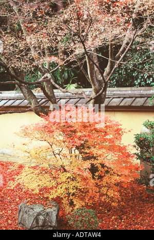 Koto-in Garden in the Daitoku-ji Temple Complex Kyoto Japan - Stock Photo