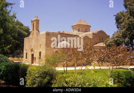 Kiti, church Panagia Angeloktistos, built by angels, Larnaka, South Cyprus - Stock Photo