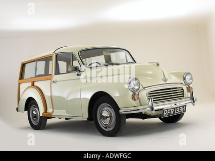 1970 Morris Minor Traveller - Stock Photo
