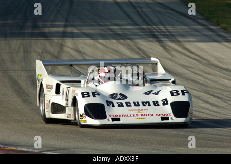 Burt Skidmore races his 1976 Lola T 286 at the 2005 Brian Redman International Challenge at Road America 2005 - Stock Photo