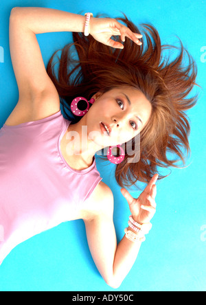 Conceptual picture of model - Stock Photo