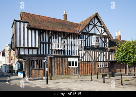 The Tudor House museum is one of Southampton's older buildings, dating from the 15th Century. It is widely believed - Stock Photo