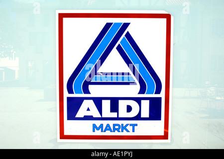 Aldi Markt Sign Supermarket German Germany Deutsch Deutschland
