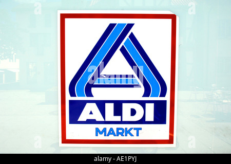 Aldi Markt Sign Supermarket German Germany Deutsch Deutschland