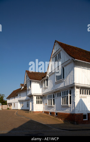 Europe England Suffolk Lavenham Guildhall Village Market Place - Stock Photo
