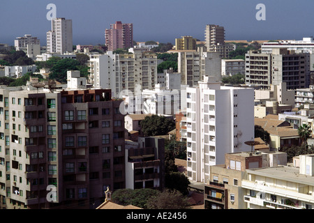 City center, Dakar, Senegal - Stock Photo