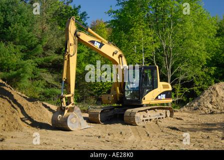 Steam shovel - Stock Photo
