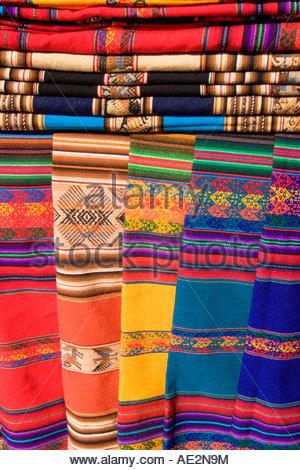 ... Navajo Native American Rugs Santa Fe New Mexico   Stock Photo