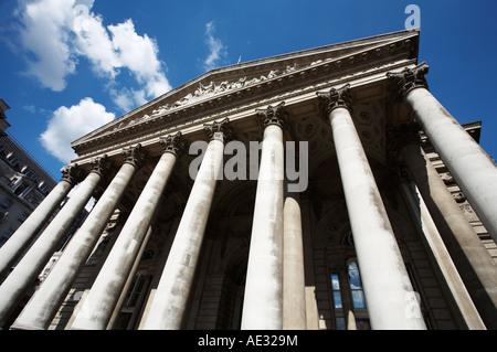 Royal Exchange London England - Stock Photo