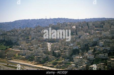 A view of Amman Jordan - Stock Photo