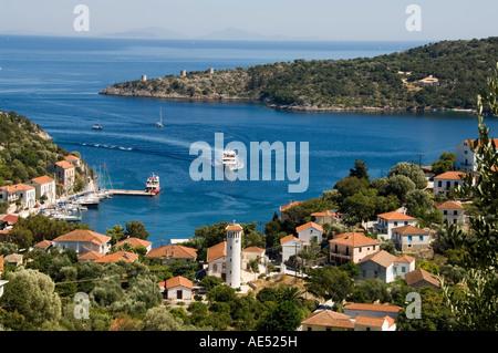 Kuoni, Ithaca, Ionian Islands, Greece, Europe - Stock Photo