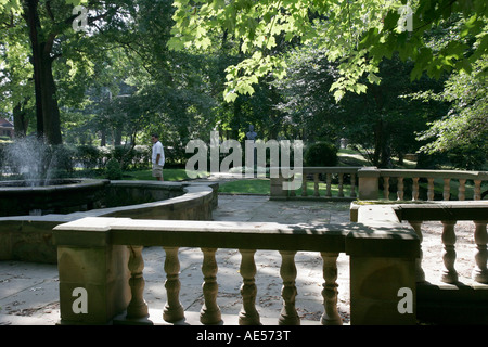 Cleveland Ohio Cultural Gardens public park Italian memorial ...