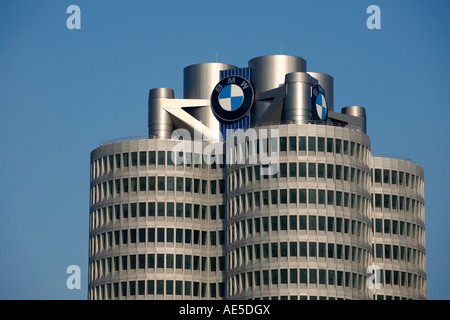BMW AG IN MUENCHEN BAVARIA GERMANY - Stock Photo