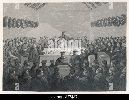 Ancient Irish Parliament - Stock Photo