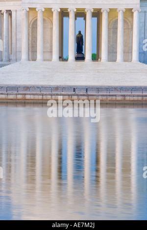 USA Washington DC Jefferson memorial - Stock Photo