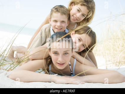 Preteen Girl Beach High Resolution Stock Photography and