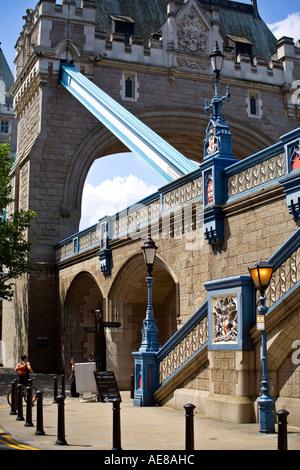 Tower Bridge in London England - Stock Photo