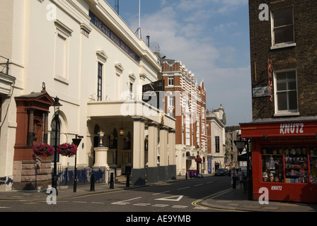 """Covent Garden"" west central London England 'Theatre Royal' 'Drury lane' - Stock Photo"