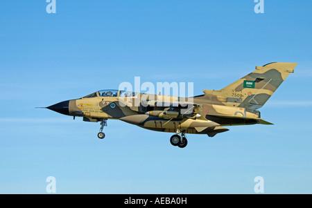 Saudi Royal Airforce Panavia GR4 Tornado IDS - Stock Photo