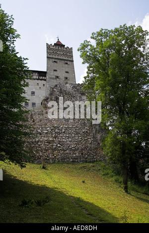Bran Castle, Bran, near Brasov, Transylvania, Romania - Stock Photo