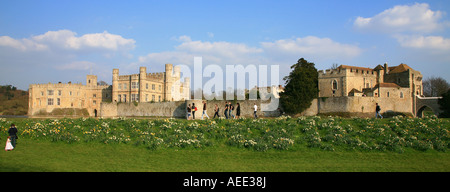 Kent, Leeds Castle - Stock Photo