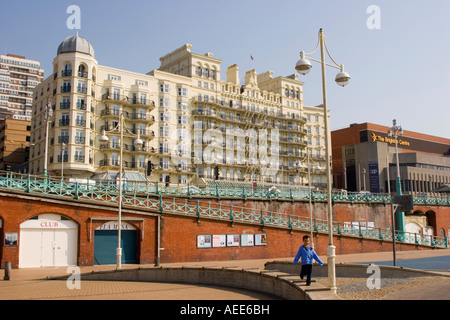 The DeVere Grand Hotel on the sea front in Brighton East Sussex
