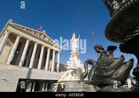 Vienna parliament - Stock Photo