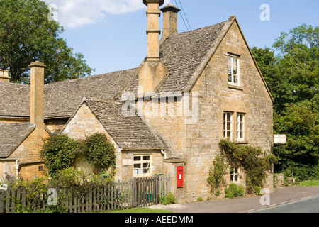 The Old Bakehouse teashop and B&B in the Cotswold village of Stanway, Gloucestershire - Stock Photo