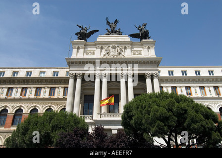 Ministerio de Agricultura, Atocha, Madrid Spain - Stock Photo