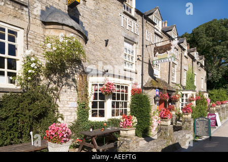 The Bull Hotel in the Cotswold town of Fairford, Gloucestershire - Stock Photo