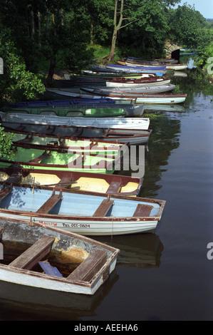 lakes at Killarney County Kerry Ireland - Stock Photo