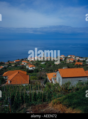 Arco da Calheta Madeira Portugal Europe. Photo by Willy Matheisl - Stock Photo