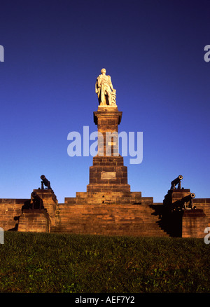 Lord collingwood Statue - Stock Photo
