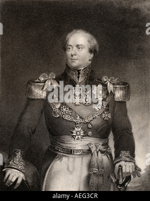 Sir Archibald Campbell, 1st Baronet, 1769 -1843. Scottish soldier. - Stock Photo