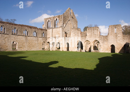 Netley Abbey , Solent , Hampshire , England . - Stock Photo
