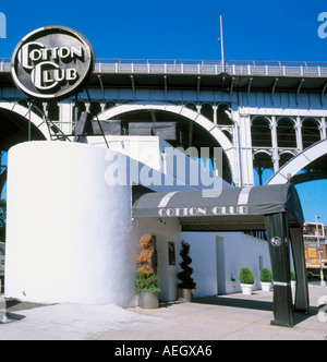 Cotton Club in New York City  - Stock Photo