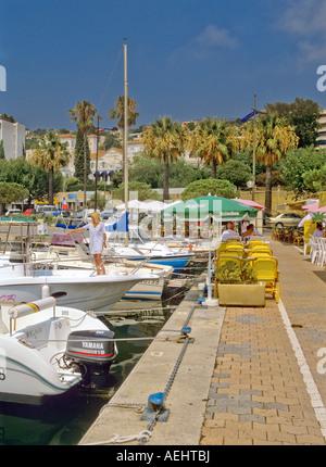 Restaurant cafe bar le port cassis cote d azur france stock photo royalty free image - Restaurant le lavandou port ...