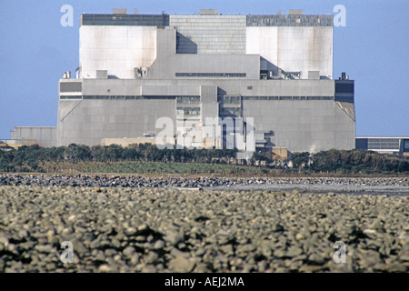 Hinkley Point Nuclear Power Station, Somerset, UK. - Stock Photo