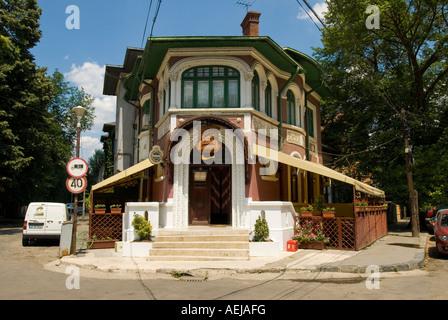 Restaurant Valencia Casa Spaniola, Bucharest, Romania - Stock Photo