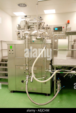 Blender Becomix RW 1200 for the manufacturing of semisolid and liquid pharmaceutics and comsetical products - Stock Photo