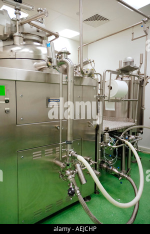 Blender Becomix RW 1200 for the manufacturing of semisolid and liquid pharmaceutics and cosmetical products - Stock Photo