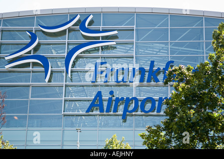 Airport, Frankfurt am Main, Hesse, Germany - Stock Photo