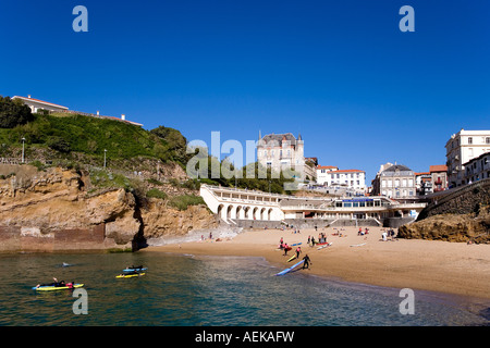 port vieux biarritz basque country france stock photo royalty free image 13705568 alamy. Black Bedroom Furniture Sets. Home Design Ideas