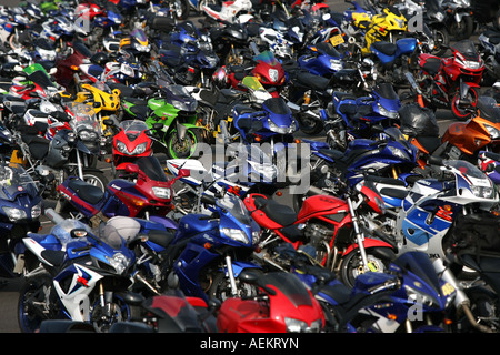 Motorbike Park Sbk World Superbike Championship Stock Photo