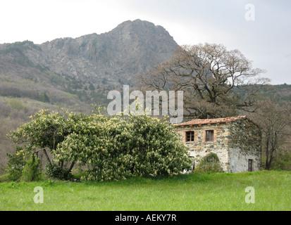 Old mountain house - Stock Photo