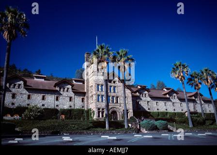 Culinary Institute of America. Napa Valley, California - Stock Photo