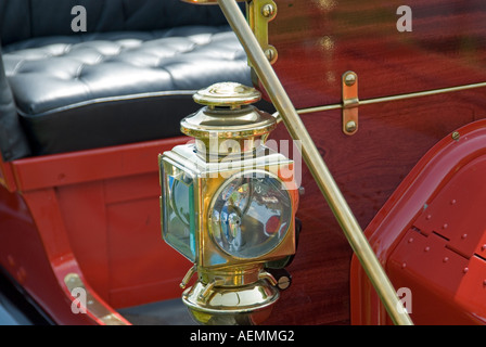 1911 Ford Model T Side Lamp - Stock Photo